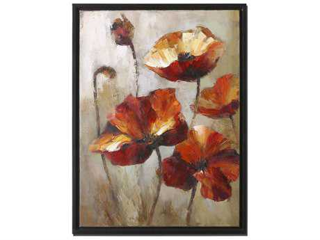 Uttermost Window View Floral Wall Art UT34223