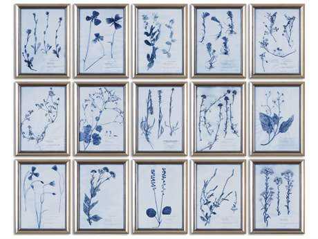 Uttermost Dried Flowers Floral Wall Art (15 Piece Set) UT33609