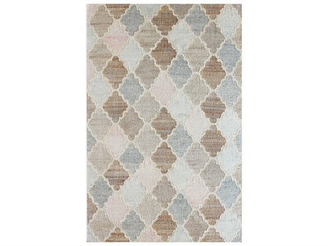 Uttermost Florio Biege / Blue Gray Rectangular Area Rug UT71153