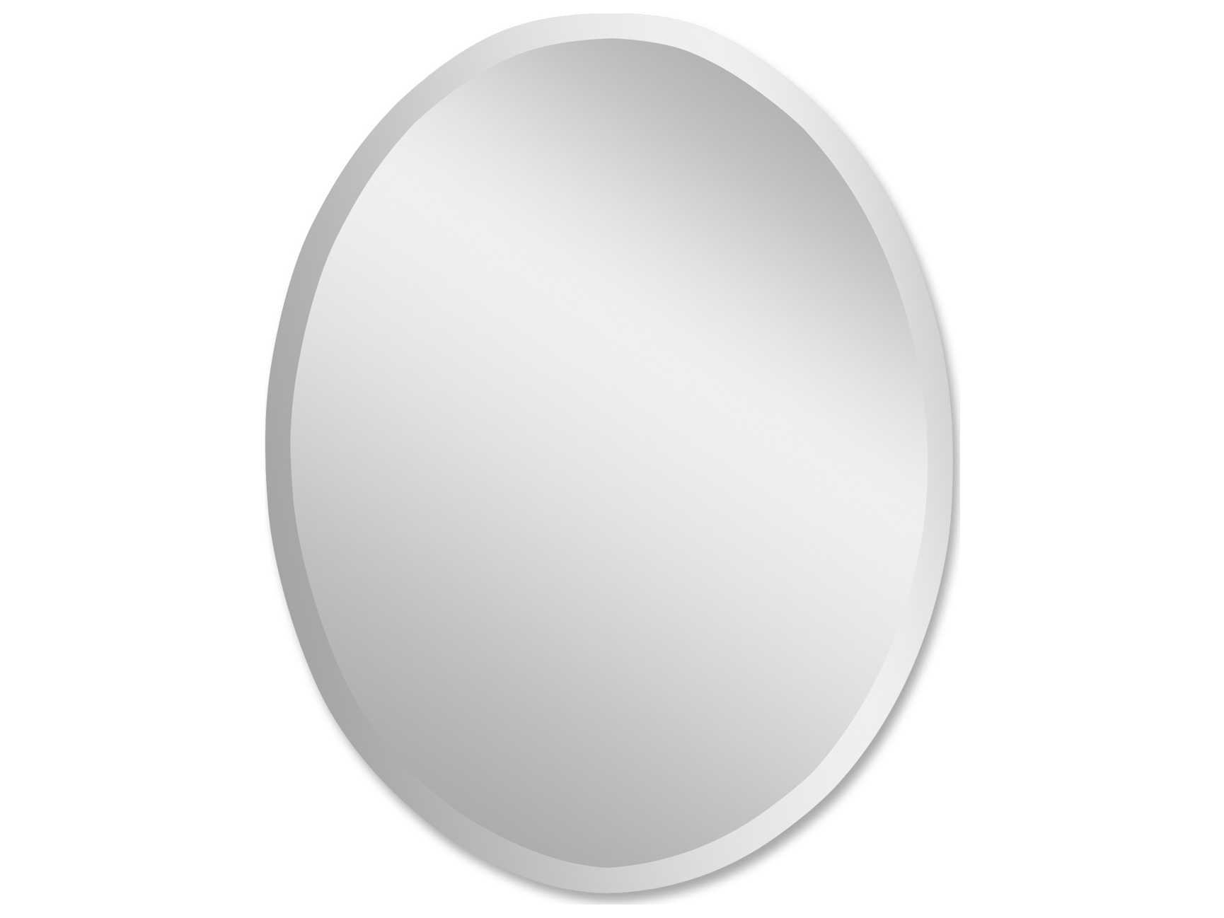 Uttermost Frameless 24 X 36 Large Oval Wall Mirror