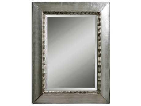 Uttermost Fresno 40 x 50 Antique Silver Wall Mirror UT11572B