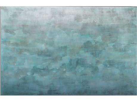 Uttermost Frosted Landscape Modern Wall Art UT35325