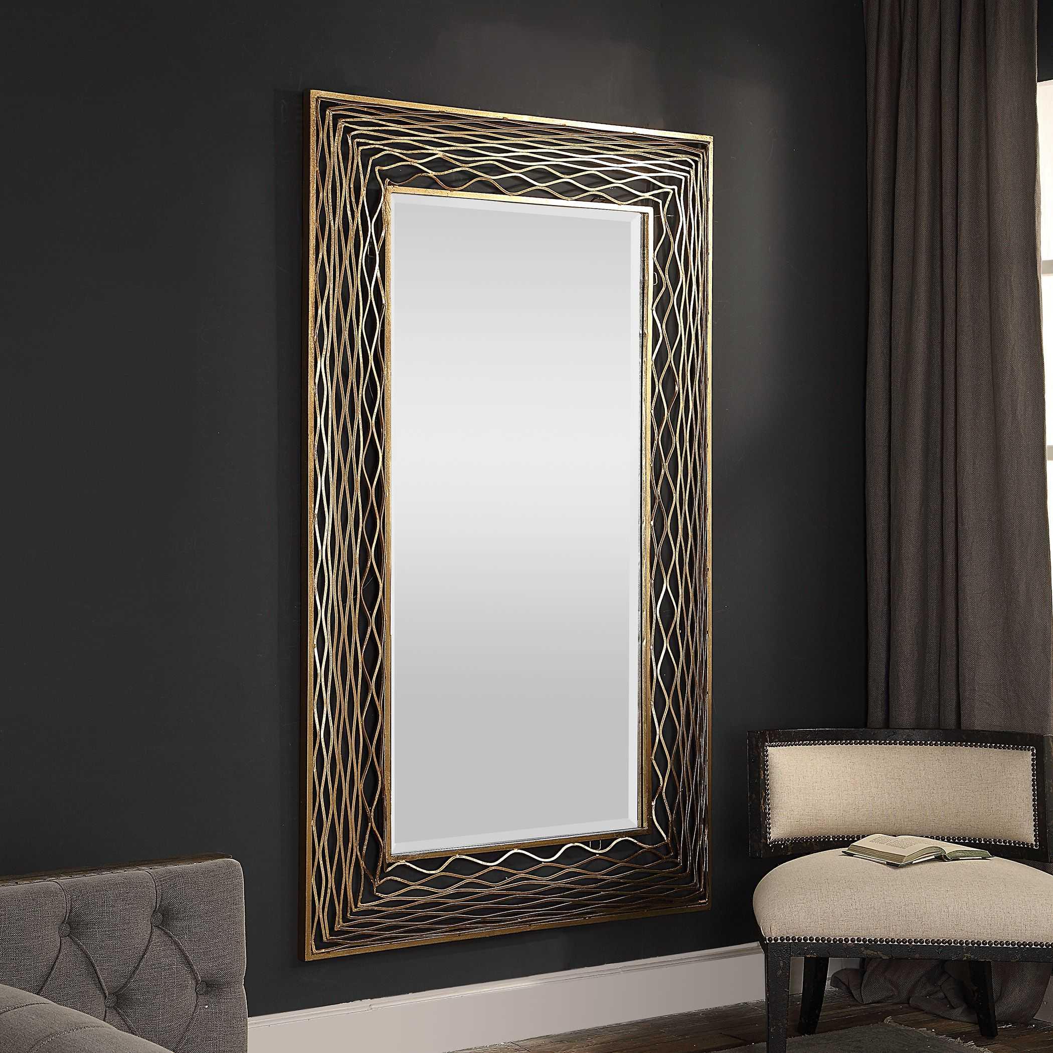 Vivian Wall Mirror By Uttermost: Uttermost Galtero Wall Mirror