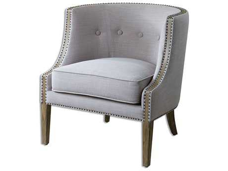 Uttermost Gamila Light Gray Accent Chair UT23220