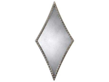 Uttermost Gelston 14 x 27 Silver Wall Mirror UT12882