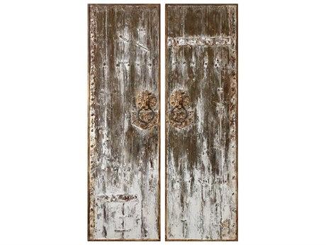 Uttermost Giles Wood Wall Art UT04143