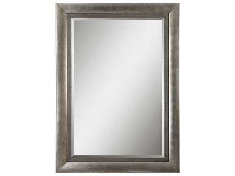 Uttermost Gilford 62 x 86 Antique Silver Wall Mirror