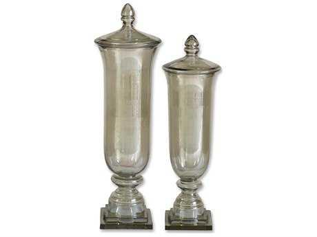 Uttermost Gilli Glass Decorative Containers (2 Piece Set) UT19148