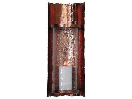 Uttermost Goffredo Antique Copper Candle Wall Sconce
