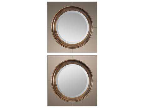 Uttermost Gouveia 20 x 20 Contemporary Wall Mirror UT12855