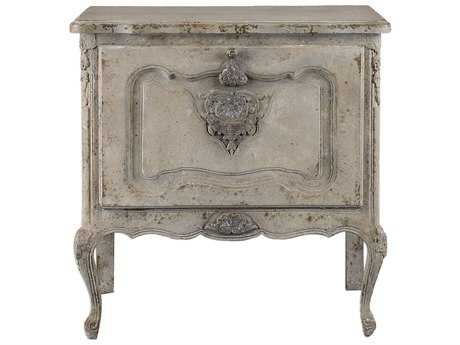 Uttermost Grace Feyock Fausta Aged Ivory Accent Chest