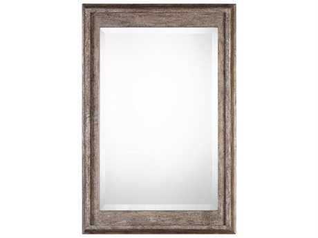 Uttermost Grace Feyock Allegan Antiqued Silver Mirror