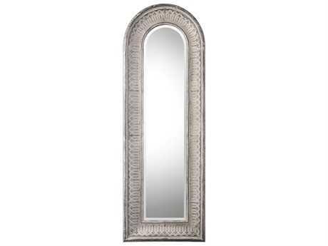 Uttermost Grace Feyock Argenton Aged Gray Arch Mirror