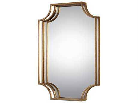 Uttermost Grace Feyock Lindee Gold Wall Mirror