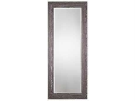 Uttermost Grace Feyock Beresford Oversized Charcoal Wood Mirror