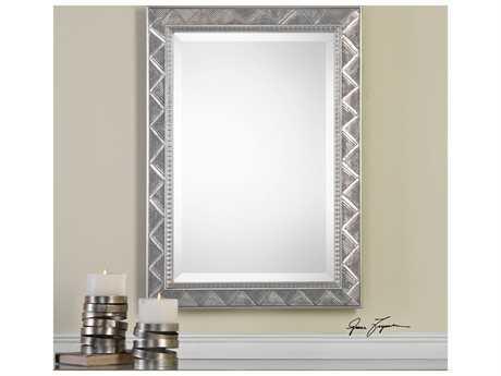 Uttermost Grace Feyock Ioway Metallic Silver Mirror