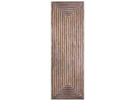 Uttermost Grace Feyock Lokono Oxidized Gold Tiered Panel