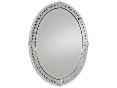 Uttermost Graziano 25 x 34 Frameless Oval Wall Mirror