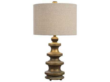 Uttermost Guadalete Antiqued Gold Table Lamp UT270331