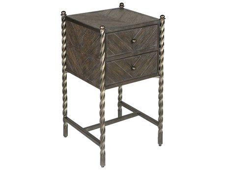Uttermost Hagar 15'' Wide Square End Table UT25333