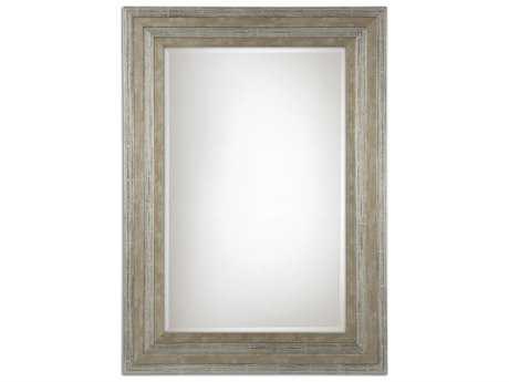 Uttermost Hallmar 26 x 36 Wood Wall Mirror UT11217B