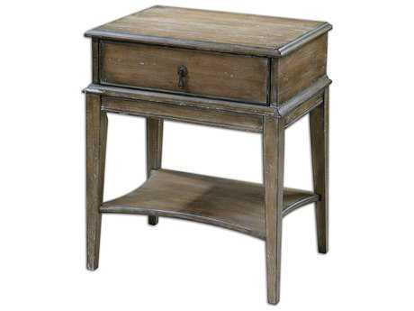 Uttermost Hanford 22 x 16 Rectangular Weathered Accent Table