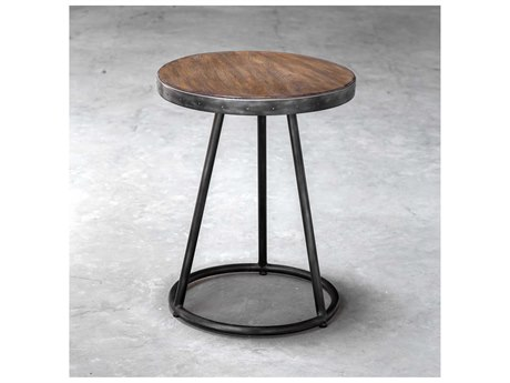 Uttermost Hector 20'' Wide Round End Table UT25889
