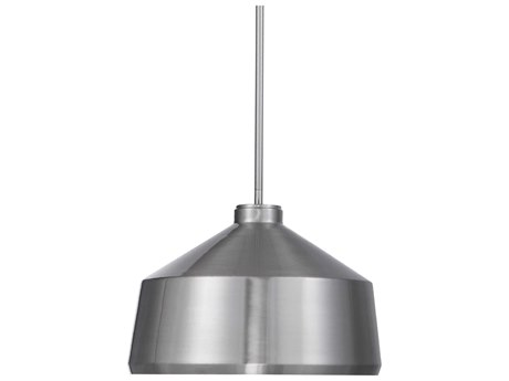 Uttermost Holgate Brushed Nickel One-Light 14'' Wide Pendant