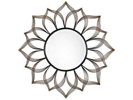 Uttermost Kenitra 24 X 40 Gold Arch Wall Mirror Ut12907