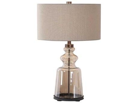 Uttermost Irving Glass Buffet Lamp UT262221