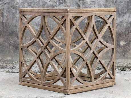Uttermost Janeva 20'' Wide Square End Table
