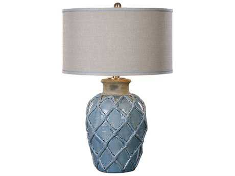 Uttermost Jim Parsons Parterre Pale Blue Buffet Lamp UT271391