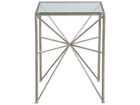 Uttermost Jim Parsons Silvana Silver Side Table UT24631