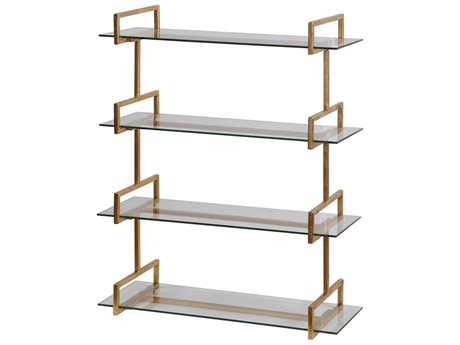 Uttermost Jim Parsons Auley Gold Wall Shelf UT04038