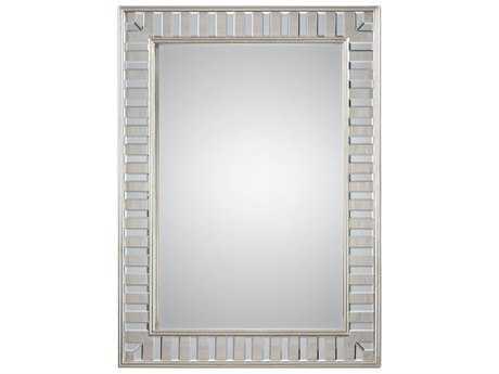 Uttermost Jim Parsons Lanester Silver Leaf Mirror UT09046