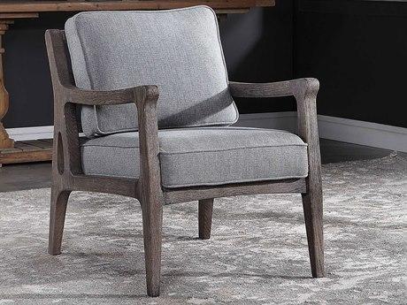 Uttermost Kina Armless Accent Chair Ut23126