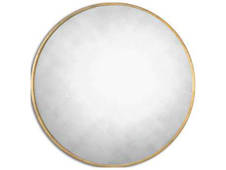 Uttermost Junius 43 Round Gold Wall Mirror