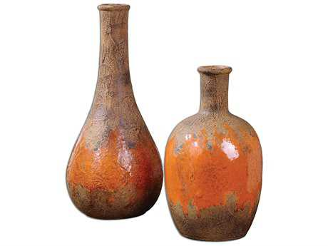 Uttermost Kadam Ceramic Vase (2 Piece Set) UT19825
