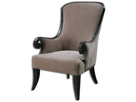 Uttermost Kandy Taupe Accent Chair UT23113