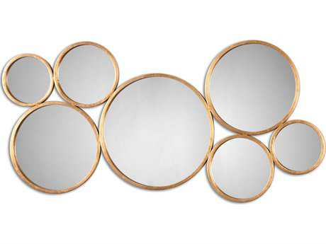 Uttermost Kanna 49 x 24 Antique Gold Wall Mirror UT13934
