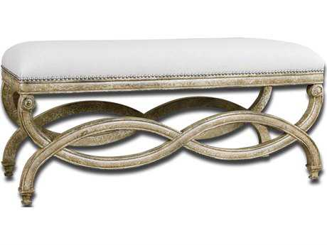 Uttermost Karline Natural Linen Bench UT23075
