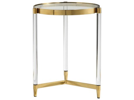 Uttermost Kellen 16'' Wide Round End Table