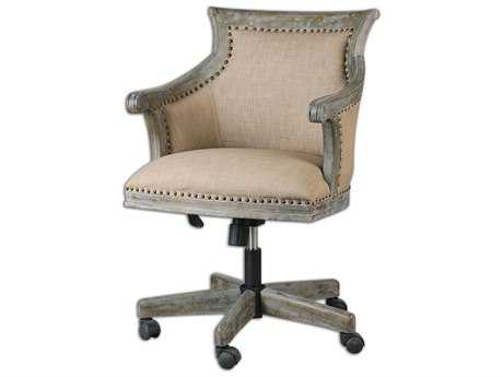 Uttermost Kimalina Linen Manager Chair UT23175