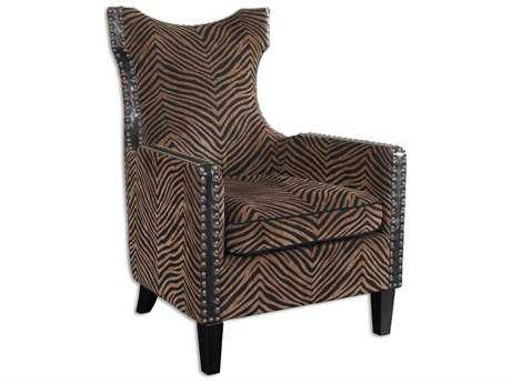 Uttermost Kimoni Wing Back Accent Chair UT23003