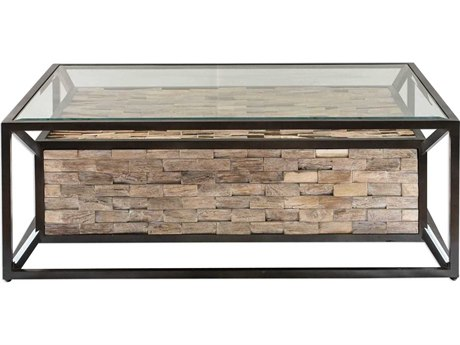 Uttermost Kono 48'' Wide Rectangular Coffee Table