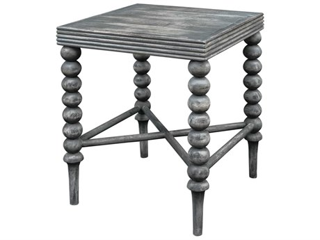 Uttermost Kunja 20'' Wide Square End Table