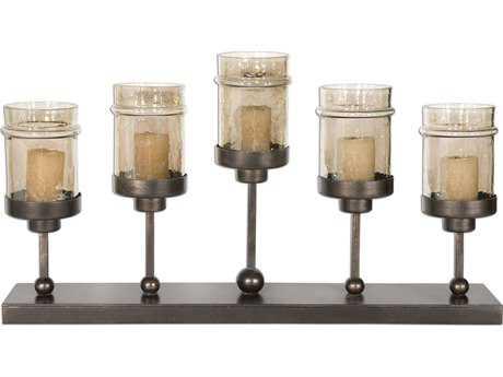 Uttermost Lamya Metal Candelabra Candle Holder
