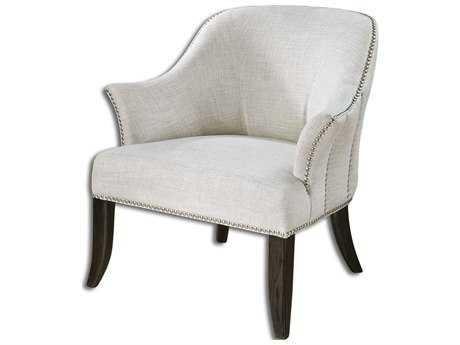 Uttermost Leisa White Accent Chair UT23114