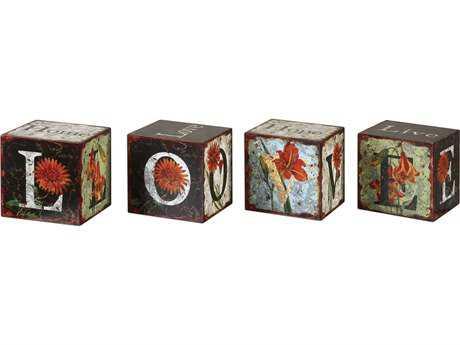Uttermost Love Letters Decorative Boxes (Set of 4) UT19540