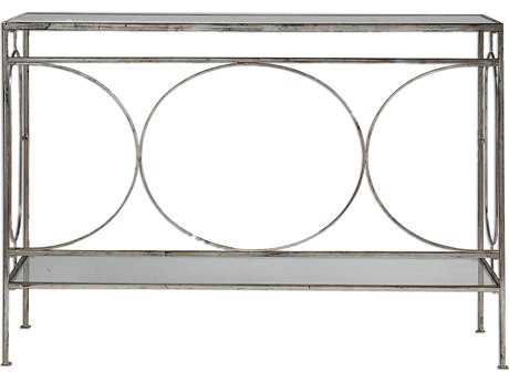 Uttermost Luano Silver 48'' x 14'' Rectangular Console Table UT24541